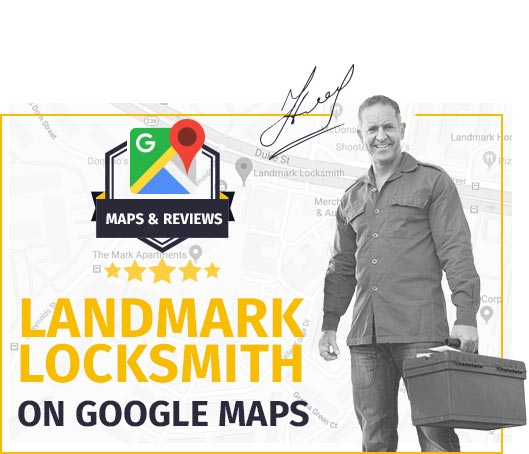 Landmark Locksmith On Map